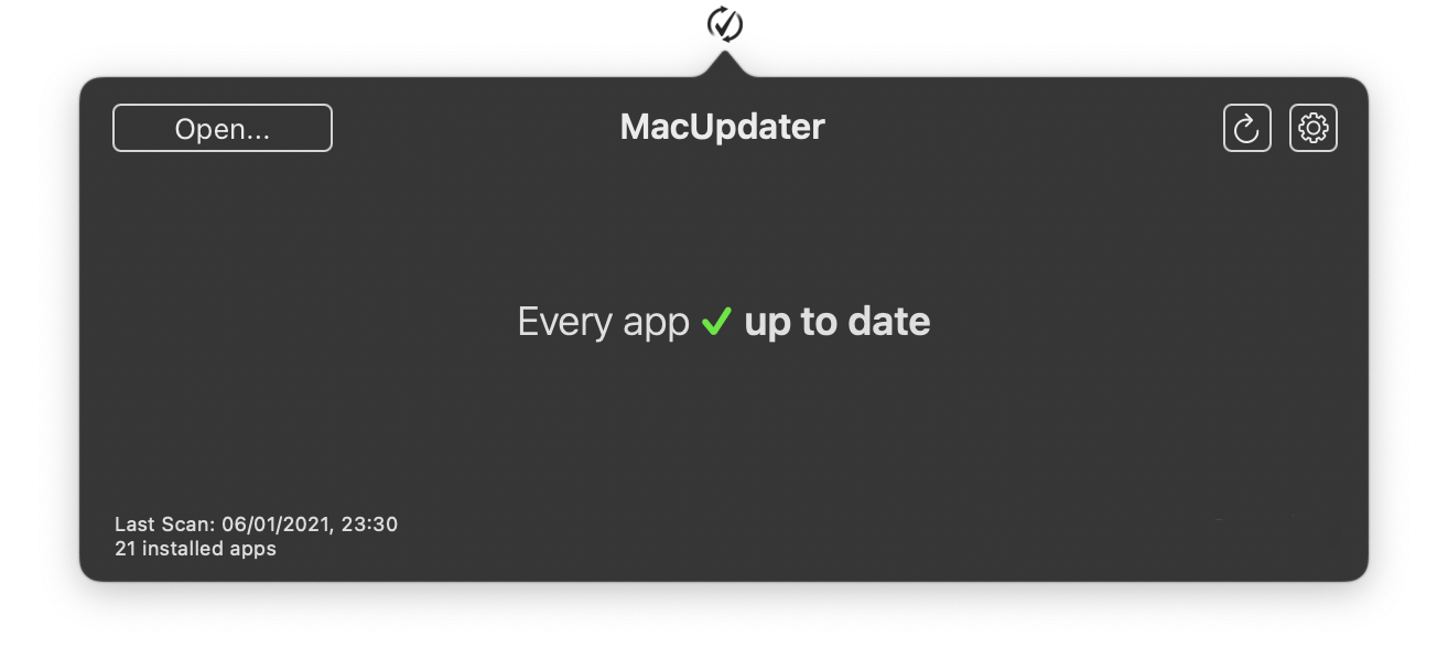 MacUpdater – keep all your apps up-to-date effortlessly